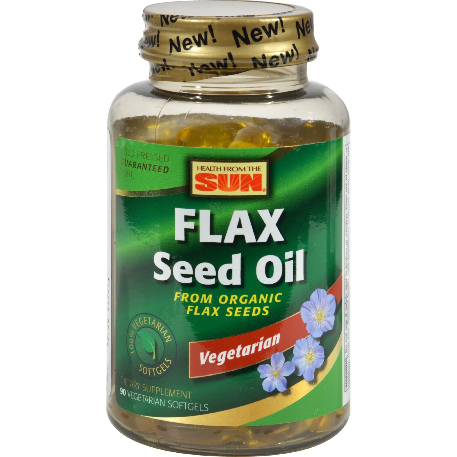 2Pack! Health From the Sun Flaxseed Oil - 90 Softgels