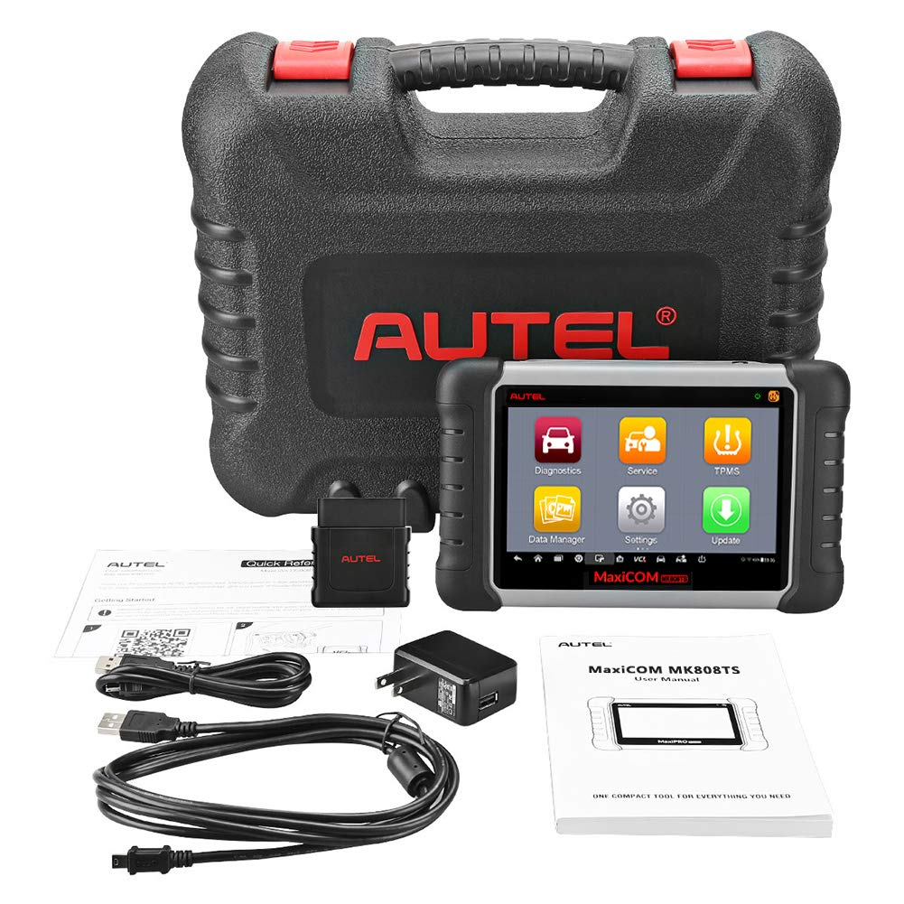Autel MaxiCOM MK808TS Enhanced Diagnostic Scan Tool of MK808BT and MK808 with Complete TPMS Functions, Full Systems Diagnoses and Reset Services including EPB, BMS, SAS, DPF, Oil Reset IMMO Service et by Autel (Image #7)