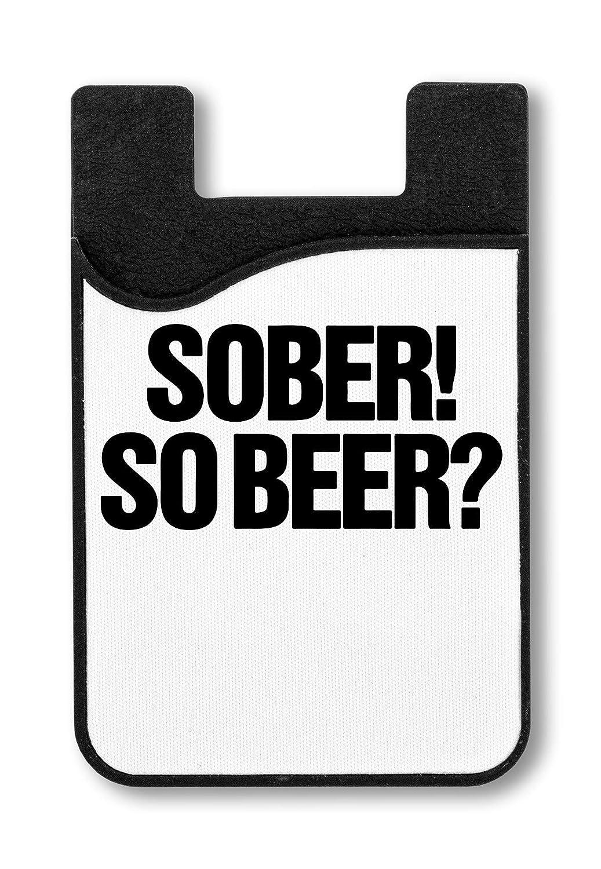 Funny So Beer Logo Titulaire de la Carte de crédit pour Smartphone
