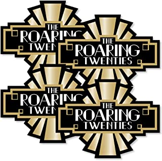 product image for Big Dot of Happiness Roaring 20's - Art Deco DIY 1920s Jazz Party Essentials - Set of 20