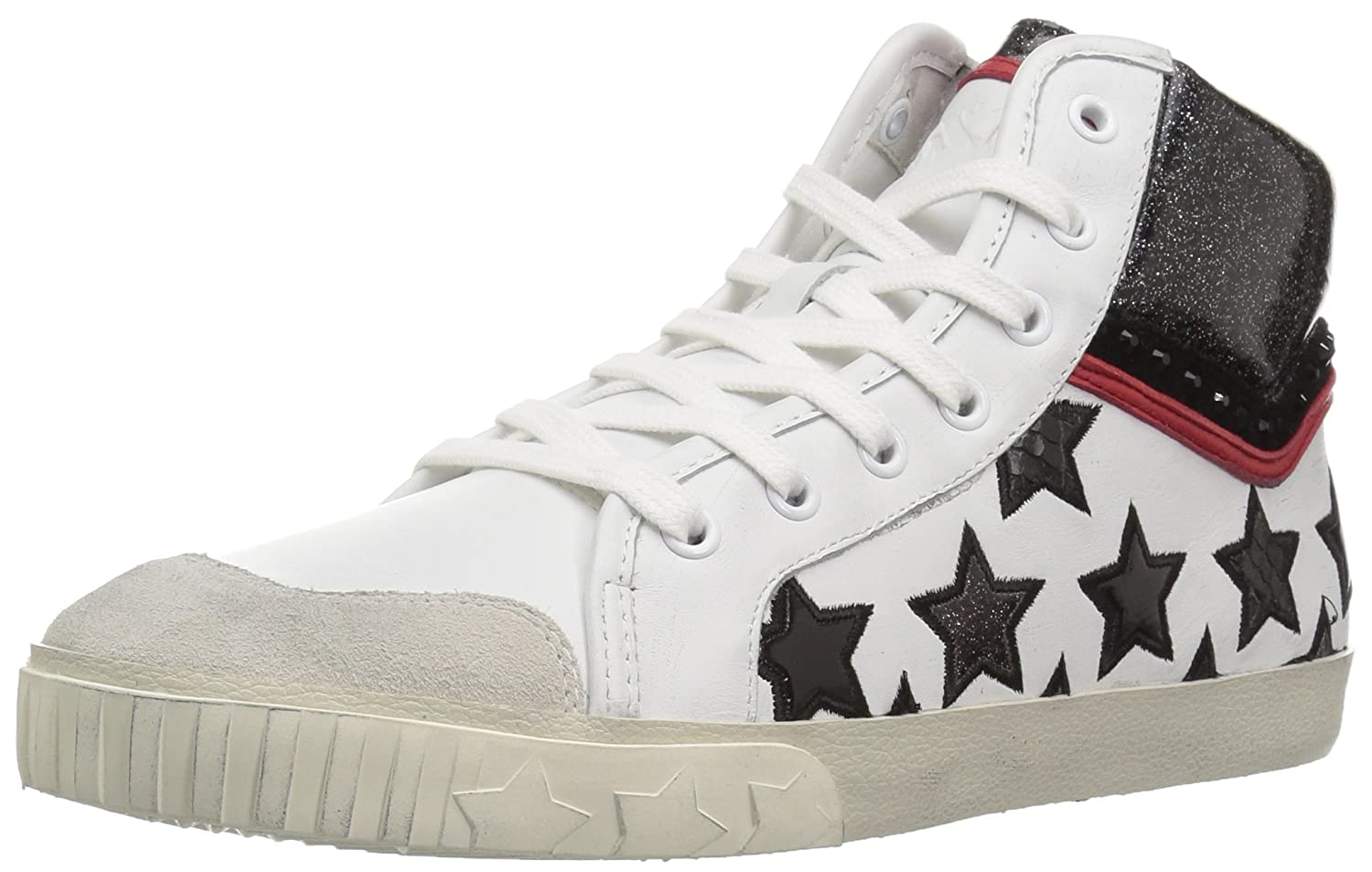 Ash Women's Musik Sneaker B01ND4ZAQQ 35 Medium EU (5 US)|White