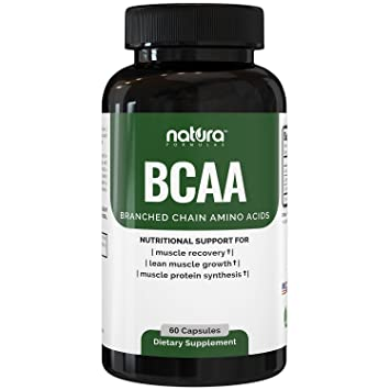 Natura BCAA Capsules - Best BCAA Capsule For Women