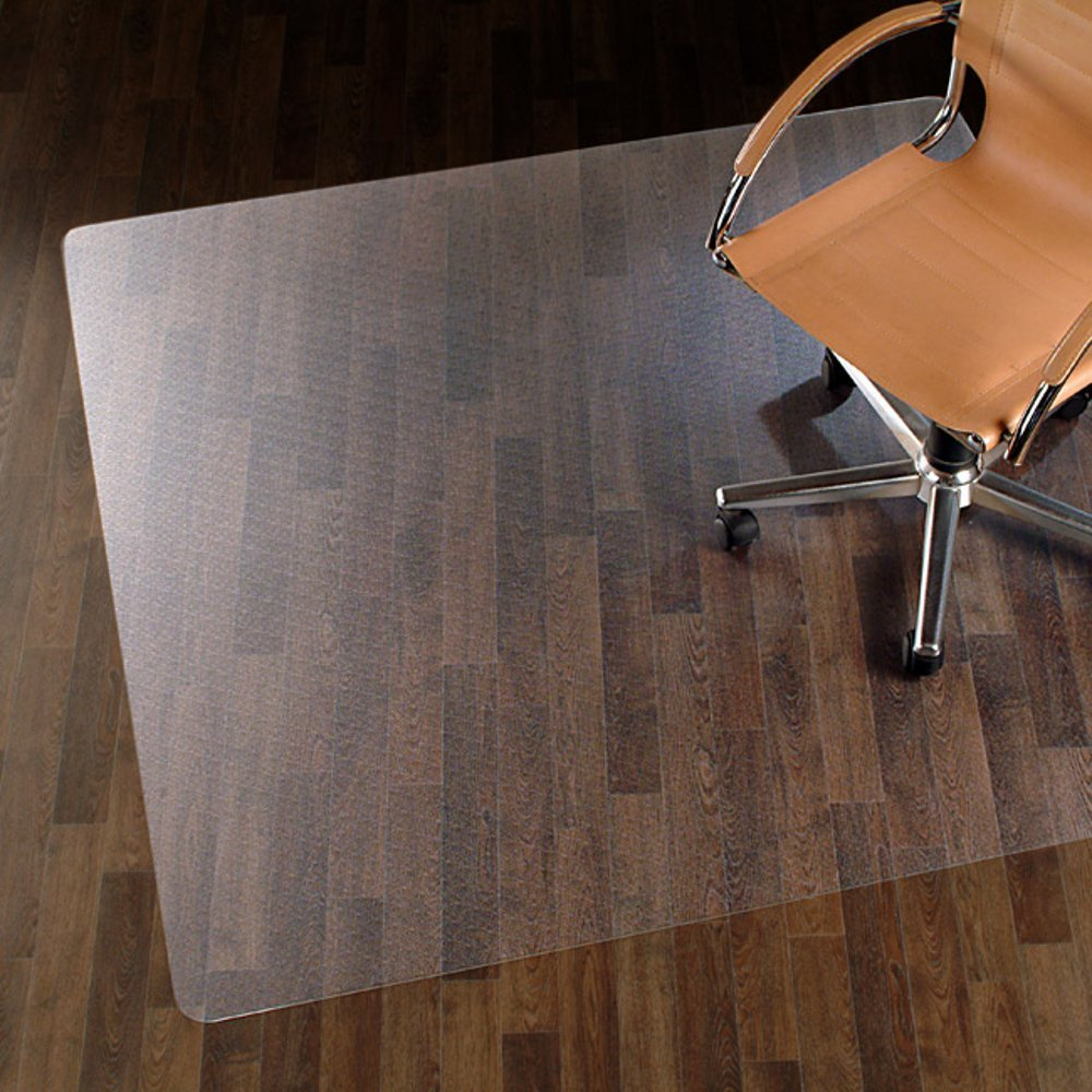 Chair Mat for Hard Floors - 48'' x 80'' | Clear, Multi-Purpose Floor Protector | Office Chair Mat for Hardwood Floor | Many Sizes Available by casa pura (Image #1)