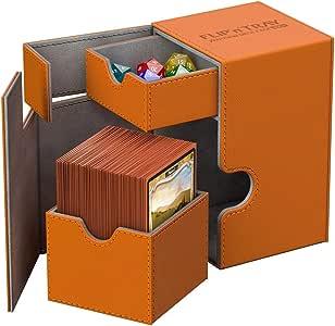 Ultimate Guard UGD10780 - Caja de cartón de xenoskin (80 Unidades), Color Naranja: Amazon.es: Juguetes y juegos