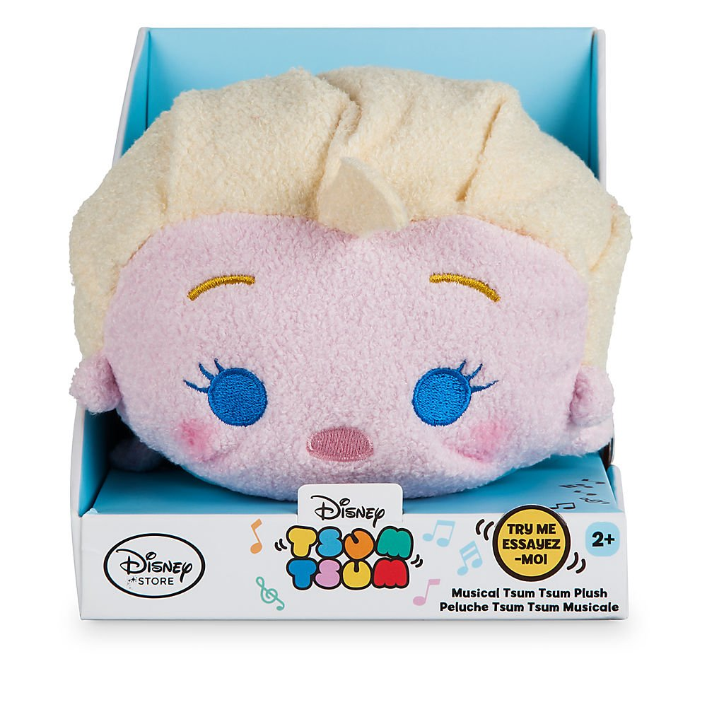 Amazon.com: Disney Elsa Musical Tsum Tsum Plush - 7 Inch: Toys & Games