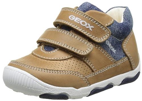 Geox B New Balu Boy A, Botines de Senderismo para Bebés, Beige (