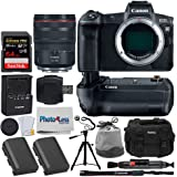 Canon EOS R Mirrorless Digital Camera + Canon RF 24-105mm f/4L is USM Lens + Canon BG-E22 Battery Grip for EOS R + Canon Battery Pack LP-E6N + 64GB Memory Card + Tripod + Photo4Less DC59 Case + More