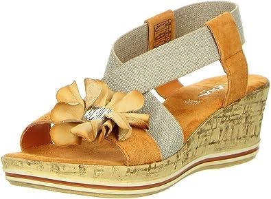 Damen Sandaletten orange, Größe:37;Farbe:Orange Vista