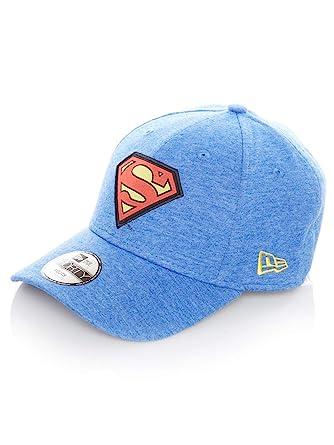 53e663a472e New Era - Superman - Dc Comics 9forty Adjustable Kids - Character Jersey -  Blue -