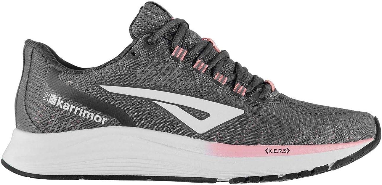 Karrimor Mujer Aura Zapatillas para Correr Gris/Rosa 38 EU: Amazon.es: Zapatos y complementos