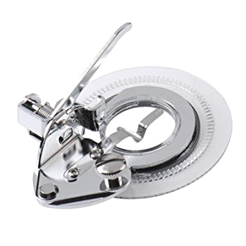 ZZM prensatelas decorativo para máquina de coser Daisy de punto de flor, universal, para todas las máquinas de coser de vástago bajo: Amazon.es: Hogar
