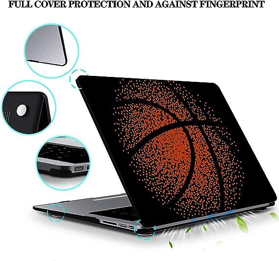 MacBook Pro Case Basketball Game MacBook Retina 12 A1534 Plastic Case Keyboard Cover /& Screen Protector /& Keyboard Cleaning Brush