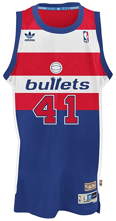a48393de03e ... closeout washington bullets 41 wes unseld nba soul swingman jersey blue  size xx 1b250 ce960
