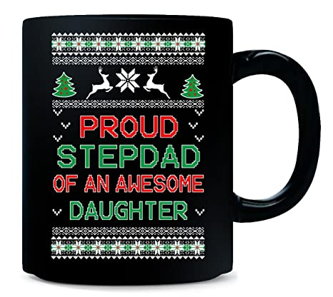 Amazon.com: Gifts For Stepdad From Stepdaughter Ugly Christmas Gift ...