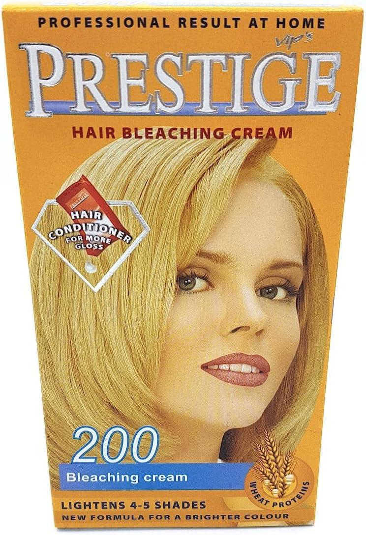 Vips prestige crema colorante para el cabello, crema aclarante 200