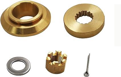 Propeller Hardware Kits Thrust Washer//Spacer//Nut for Yamaha 150-300HP
