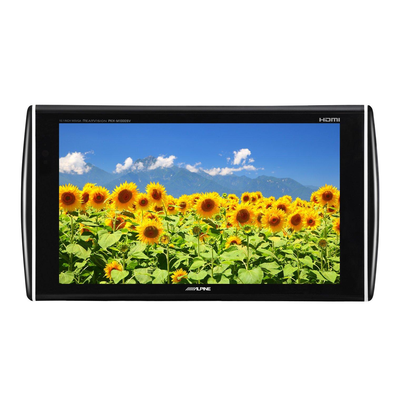 アルパイン(ALPINE) 後席フリーモニター 10.1型(HDMI入力付き) PKH-M1000SV B00KJ94RBK