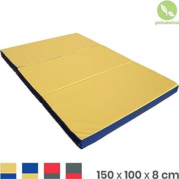 Tappetino da ginnastica Pieghevole Stuoia protezione morbido 100 Х 100 Х 8 cm