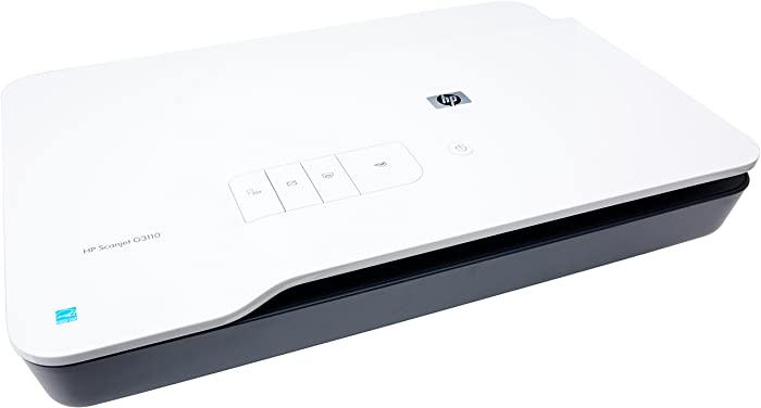 HP ScanJet G3110 Photo Scanner - Scanner à plat - 220 x 300 mm - 4800 ppp x 9600 ppp - Hi-Speed USB