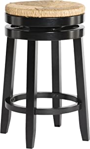 Powell Furniture Maya Counter Stool, Black