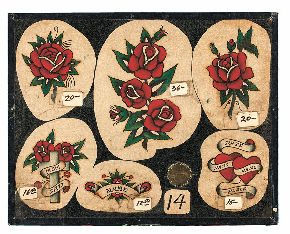 Amazon Vintage Tattoo Flash 100 Years Of Traditional Tattoos From The Collection Jonathan Shaw 9781576877692 Books