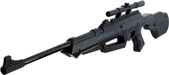 Bear River Sportsman 900 Air Rifle - Multi-Pump .177 Airgun - BB/Pellet Gun with Scope Included