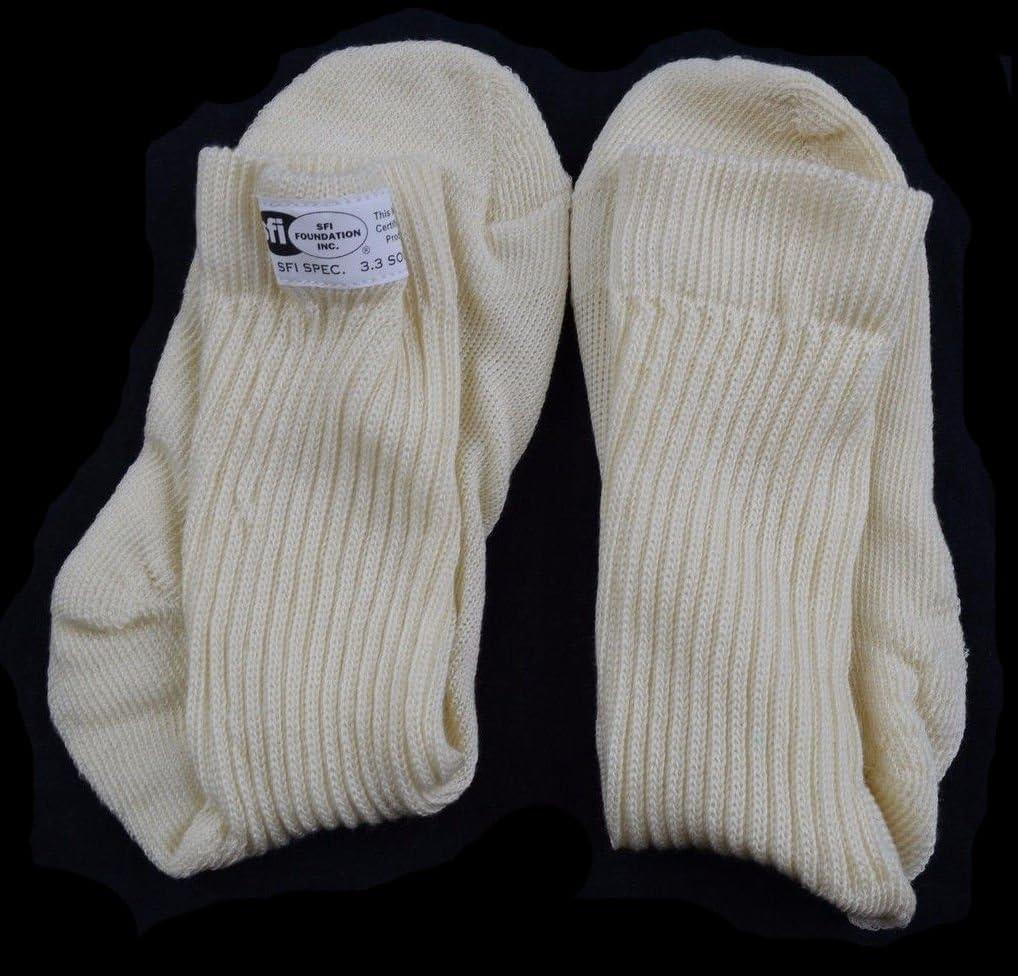 RJS Racing Equipment 800070005 Large Nomex Socks