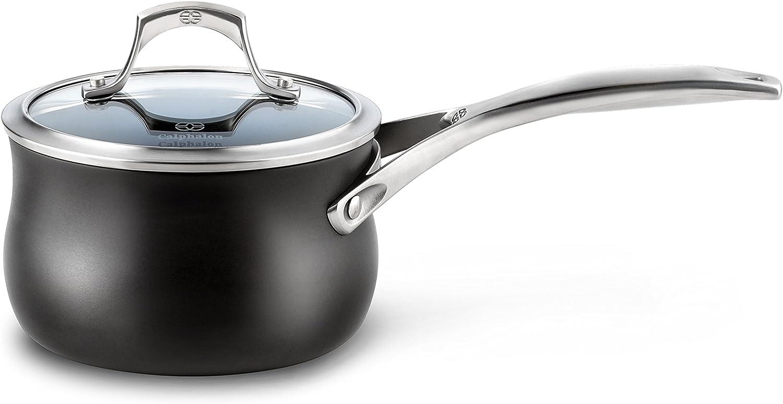 Calphalon Unison Nonstick 2 Quart Sauce Pan with Lid