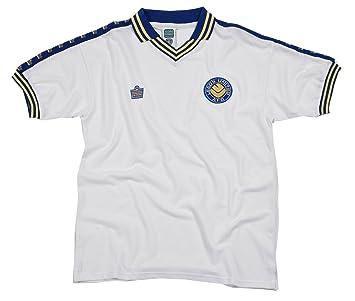 Score Draw Official Retro Leeds United 1978 Shirt Admiral  Amazon.co ... 18d26e26b