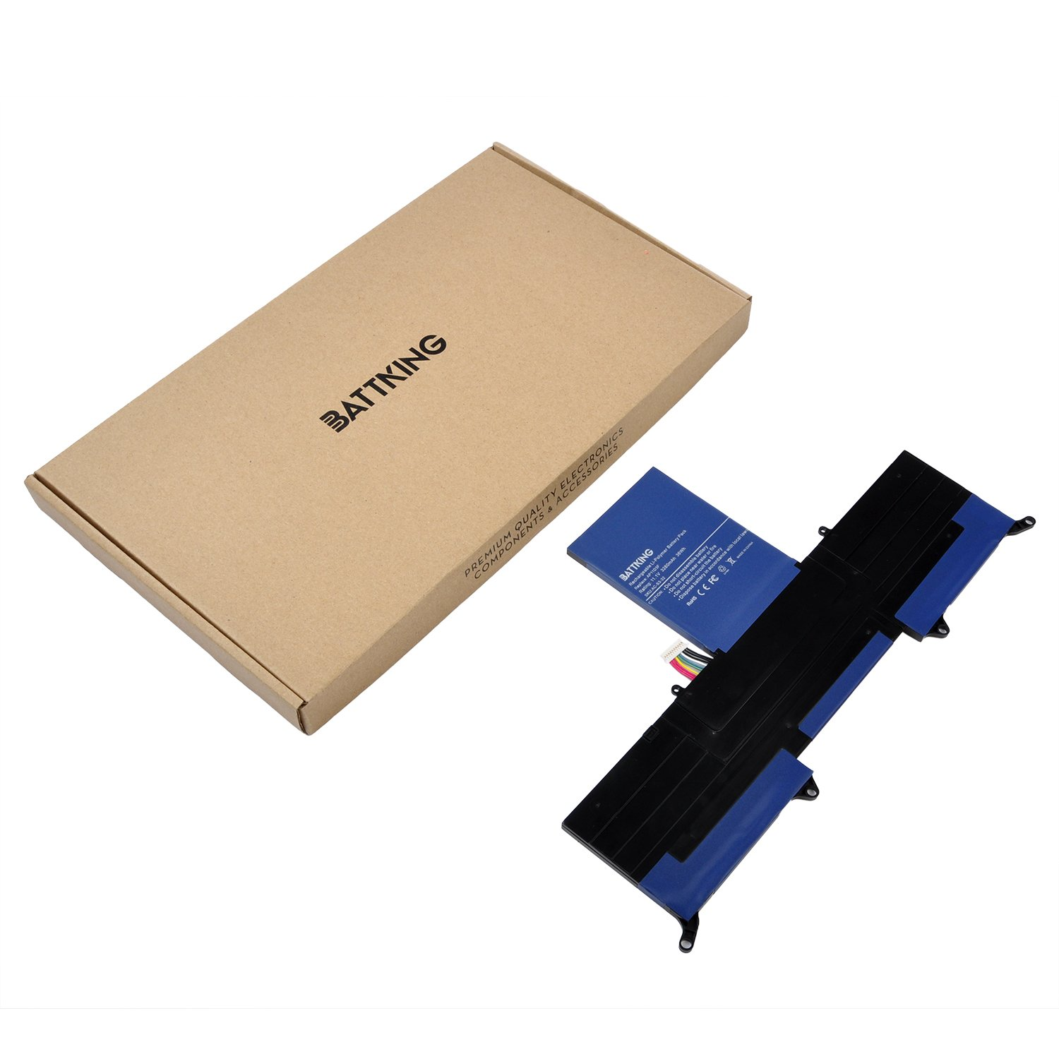 Amazon.com: BATTKING New AP11D3F AP11D4F Laptop Battery Compatible for Acer Aspire S3 Series S3-391 S3-951 MS2346, Fits MS2346 3ICP5/65/88 3ICP5/67/90 ...