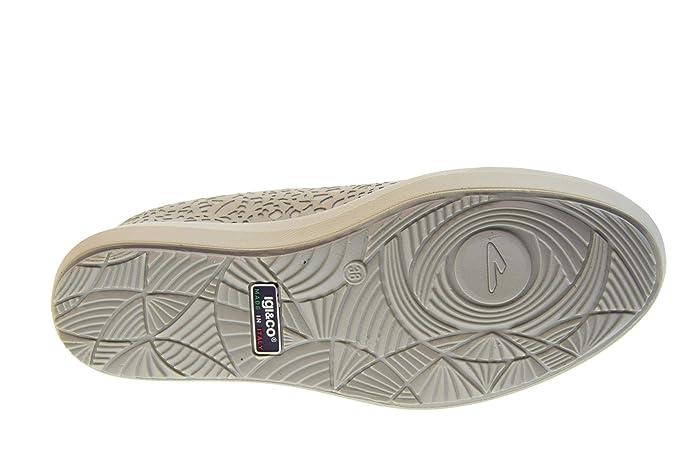 Amazon.com: IGI & CO 3157022 - Zapatillas de cuña para mujer ...