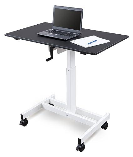 Stand Up Desk Store Escritorio de Soporte Ajustable con manivela ...