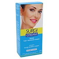 SURGI-CREAM Facial Hair Removal Cream 1 oz (Pack of 4)