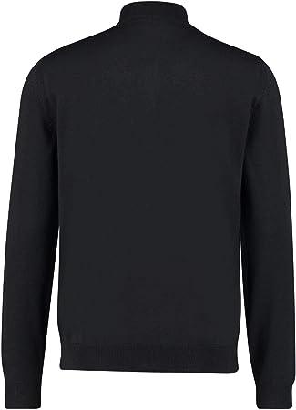 Hugo Boss Balonso-L - Traje de Punto de algodón con Cremallera, Color Negro