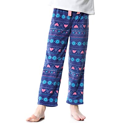 Soft Casual Loose Fleece Lounge Pants Size 5 6 8 10 OLEH-OLEH Little Kid and Toddler Girl/'s Pajama Bottoms
