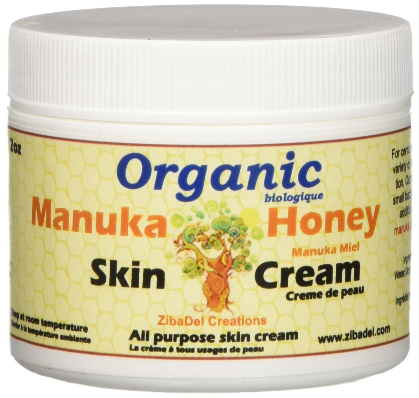 Organic Manuka Honey Intense Moisture Skin Baby Cream