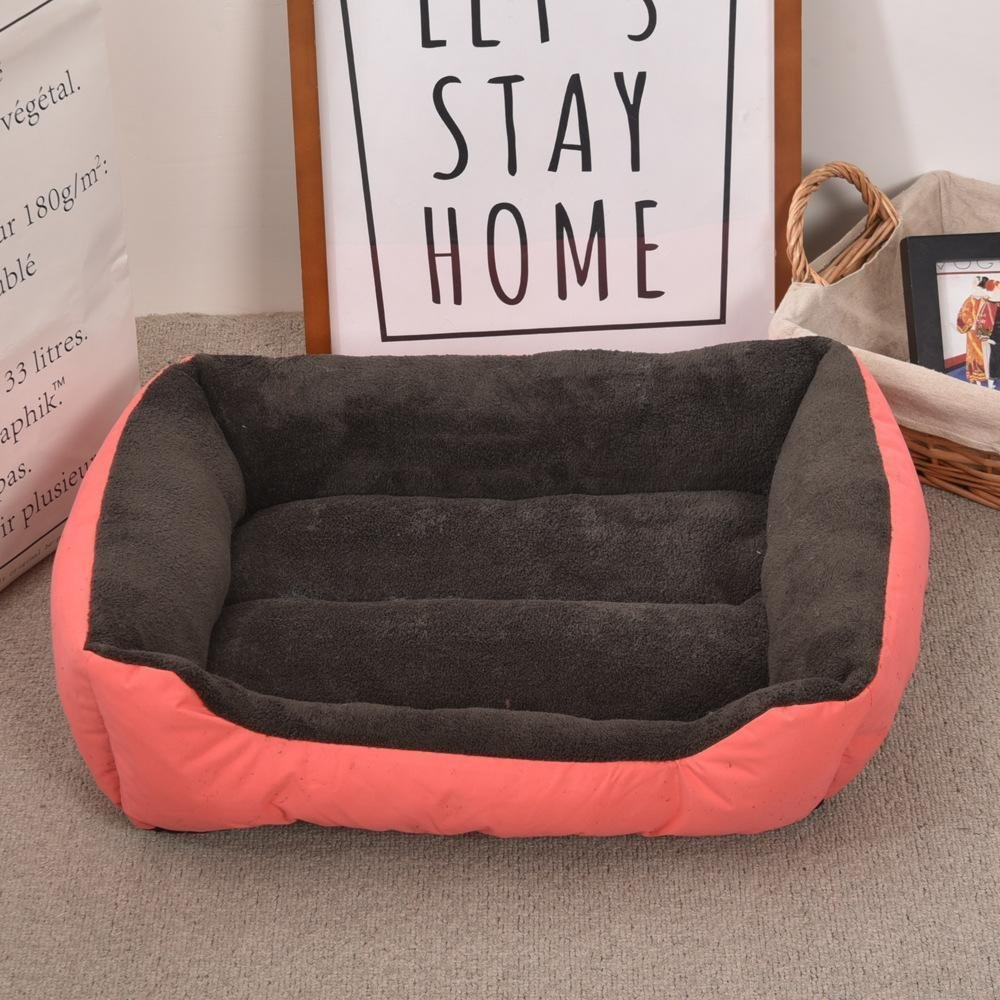 C Lozse Pet Beds Plush warm oxford cloth kennel cat Nest Pet Litter Dog mat 30  40cm for Dogs and Cats Sleeping Cushion