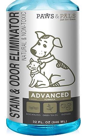 OxGord Eliminador de manchas y olores para mascotas - 32 oz: Amazon.es: Productos para mascotas