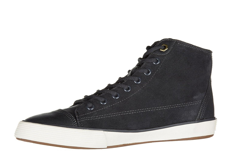 Ralph Lauren Polo Scarpe Sneakers Alte Uomo in camoscio Nuove Kelsey  Grigio  Amazon.it  Scarpe e borse b001426bc16
