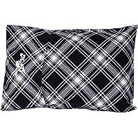 MyPillow Roll & GoAnywhere Pillow (Black Plaid)