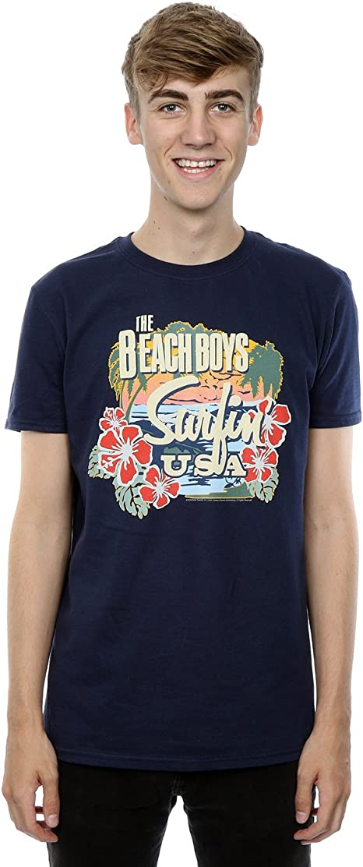 The Beach Boys Surfin USA Tropical Camiseta Manga Corta para Niños: Amazon.es: Ropa y accesorios