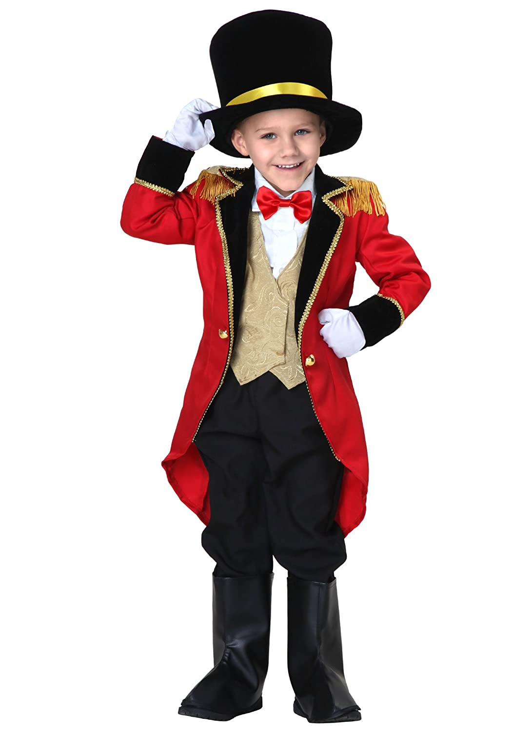 Little Boys' Ringmaster Costume circus