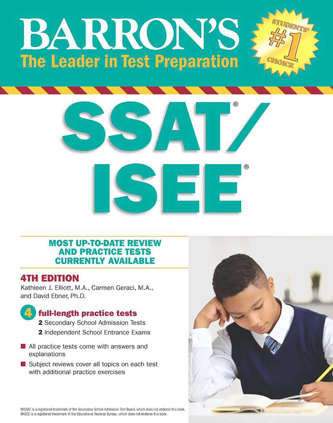 amazon barron s ssat isee high school entrance examinations