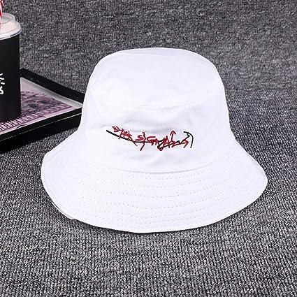 Amazon.com  Y-XM Packable Basin Hats Cotton Breathable Unisex Casual ... e649fb6d47eb