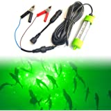 Ankey 12V 45W 72 LED 2500 Lumen Lure Bait Submersible Fishing Light Attractants Underwater Night Fishing Finder with…