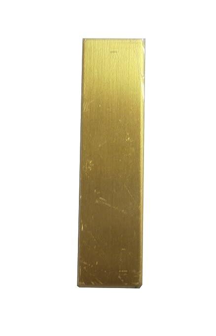 20 Pack 1 Inch x 2 Inch Rectangular Brass RMP Stamping Blanks .020 Inch // 24 Gauge