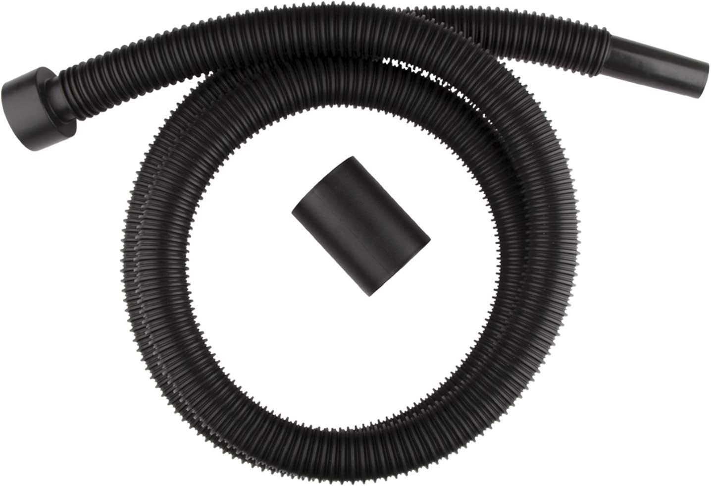 WORKSHOP Wet Dry Vacuum Accessories WS12520A Wet Dry Vacuum Hose, 1-1/4-Inch x 6-Feet Wet Dry Vac Hose, Friction Fit Hose for Wet Dry Shop Vacuum