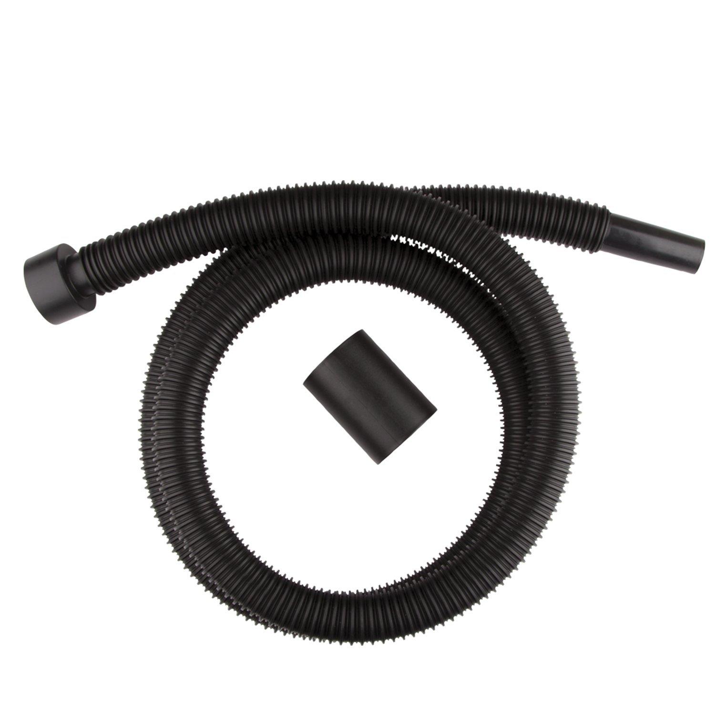 WORKSHOP Wet Dry Vacuum Accessories WS12520A Wet Dry Vacuum Hose,  1-1/4-Inch x 6-Feet Wet Dry Vac Hose,  Friction Fit Hose for Wet Dry Shop Vacuum