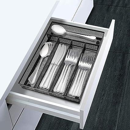Amazon.com: LIANYU Organizador de utensilios de cocina, 5 ...