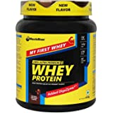 MuscleBlaze Whey Protein (Trial Pack) 0.4 kg / 0.8 lb, Rich Milk Chocolate
